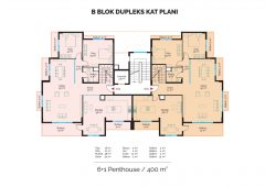 B Block Duplex Floor Plan
