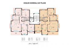 B Block Normal Floor Plan