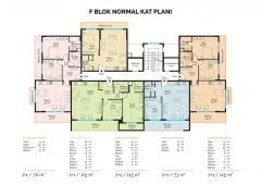F Block Normal Floor Plan