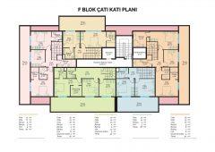 F Block Roof Plan